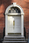 Philadelphia Photo Prints - Georgian Door Print by Olivier Le Queinec