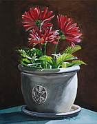 Gerbera Daisy Paintings - Gerbera Daisy by KaeLynn Winn