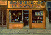 Store Fronts Prints - Gerbers Hardware Print by Richard Baumann