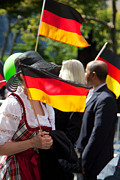 5th Ave Photos - German Flags at Parade by Jannis Werner