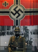 Uniform Mixed Media Posters - German Waffen SS Poster by Gunter E  Hortz