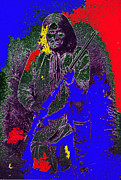 Chiricahua Apache Posters - Geronimo film homage  Stylized Ben Wittick photo Poster by David Lee Guss