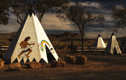 Gary Warnimont Metal Prints - Geronimo Trading Post Metal Print by Gary Warnimont