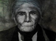Art Historical Drawings Prints - Geronimo Print by Trisha Rigdon