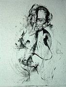 Strong Drawings Originals - Gesture Study by John Arthur Ligda