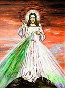 Religious Artist Art - Gesu by Loredana Messina