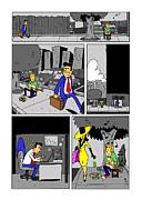Get A Real Job Print by James Francis