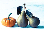 Orange Pumpkin Framed Prints - Get a room Framed Print by Constance Fein Harding