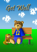 Jeanette K - Get Well Bear and Dog