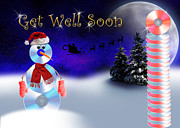 Jeanette K - Get Well Soon CD Snowman
