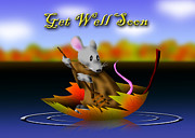 Jeanette K - Get Well Soon Mouse