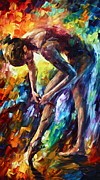 Ballet Originals - Getting Ready by Leonid Afremov