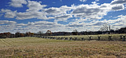 Civil War Battle Site Photo Prints - Gettysburg Battlefield - Pennsylvania Print by Brendan Reals