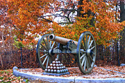 Artillery Metal Prints - Gettysburg High Water Mark Metal Print by Paul W Faust -  Impressions of Light