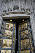 Michaelangelo Prints - Ghiberti Doors Print by David Bearden
