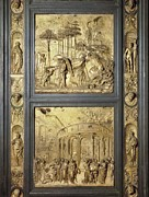 The Sacred Feminine Prints - Ghiberti, Lorenzo 1378-1455. The Gates Print by Everett