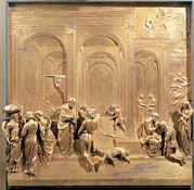 Renaissance Sculpture Framed Prints - Ghiberti Lorenzo, Isaac, Esau Framed Print by Everett
