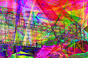 Pier 39 Digital Art - Ghirardelli 7D13979 by Wingsdomain Art and Photography