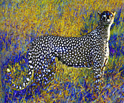 Cheetah Digital Art - Ghost Cheetah by Philip Brent