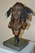 Indians Sculptures - Ghost Dancer by Casey Koehler