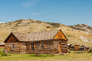 Bannack State Park Photos - Ghost in the Window by Sue Smith