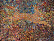 Expressionist Art - Ghost of a Rabbit by James W Johnson