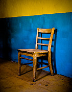 Nikon D80 Prints - Ghost Town Chair Print by Sonja Quintero