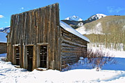 Ashcroft Prints - Ghost Town Print by John Babis