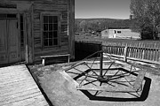Bannack Montana Prints - Ghost Town Kiddy Go Round Print by Daniel Hagerman