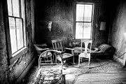 Interior Still Life Metal Prints - Ghost Town Still Life I Metal Print by George Oze