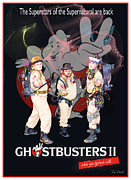 Tom Schmidt Acrylic Prints - Ghostbusters Acrylic Print by Tom Schmidt
