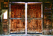 Ghostly Barn Photos - Ghostly Doors By Diana Sainz by Diana Sainz