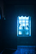 Ghost Story Prints - Ghostly Person At A Window Print by Lee Avison