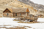 Bannack State Park Photos - Ghosts in the Window? by Sue Smith