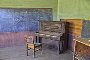 Abandoned School House. Originals - Ghosts Of Musical Notes by James Langner