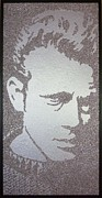 James Dean Painting Originals - Giant by Arthur Benjamins
