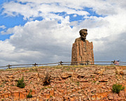 Gregory Dyer - Giant Head Of Abraham Lincoln In Laramie Wyoming - 03