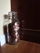 Guy Ricketts Photography Prints - Giant Jar of Lincolns Print by Guy Ricketts