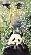 Alfred Ng - Giant Panda with CN Tower