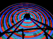 Amusements Art - Giant Wheel by Mark Miller
