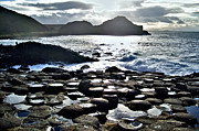 Causeway Coast Posters - Giants Causeway Poster by Nina Ficur Feenan
