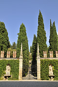 During Art - Giardino Giusti gardens in Verona Italy by Matthias Hauser