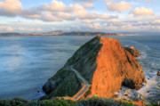 Bonita Point Acrylic Prints - Gibraltar Acrylic Print by JC Findley