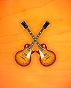 Gibson Les Paul Standart   Print by Doron Mafdoos