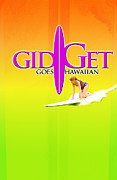 Gidget Goes Hawaiian Print by Ron Regalado