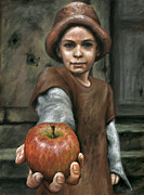 Child Pastels - Gift by Mark Zelmer