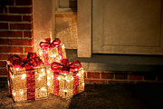 Christmas Lights Photos - Gift of Lights by Olivier Le Queinec
