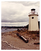 Bicentennial Prints - Gig Harbor Lighthouse Print by Jack Pumphrey