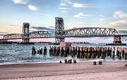 Atlantic Beaches Prints - Gil Hodges Memorial Bridge Print by JC Findley