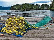 Gill Net Print by Robert Bales